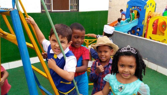 Creche Vó Zizi realiza semana especial em comemoração ao Dia das Crianças!