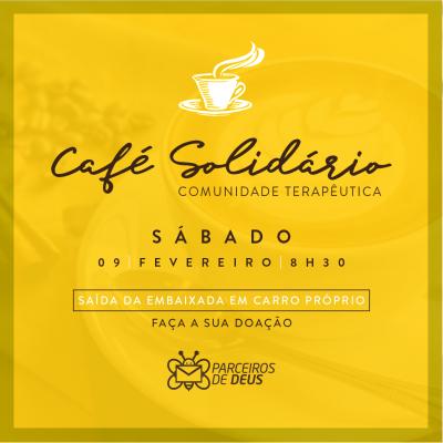 Participe do Café Solidário na Comunidade Terapêutica Desafio Jovem