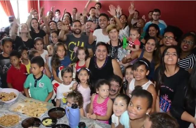 Instituição Lar Feliz também é um dos projetos assistidos pelos Parceiros de Deus