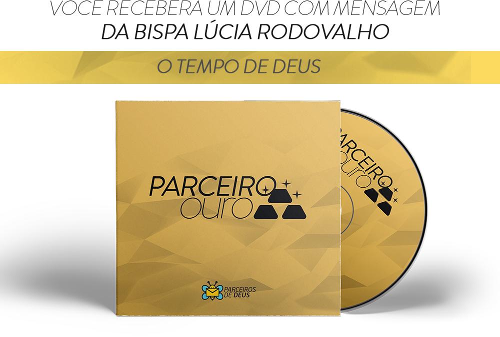 Receba já o DVD O Tempo de Deus, da Bispa Lúcia Rodovalho
