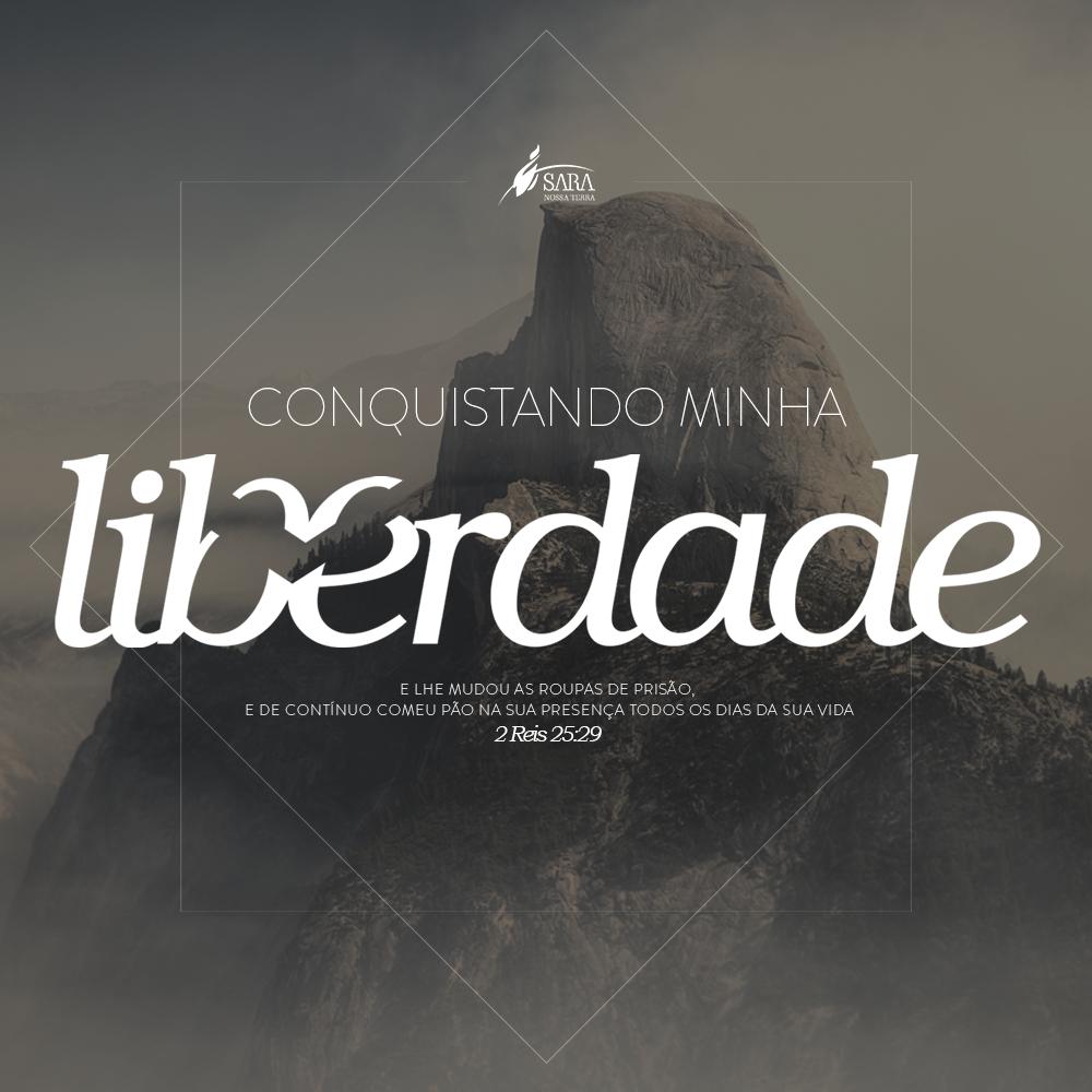 Em setembro acontece a Campanha Conquistando Minha Liberdade em todas as SNT's do Brasil