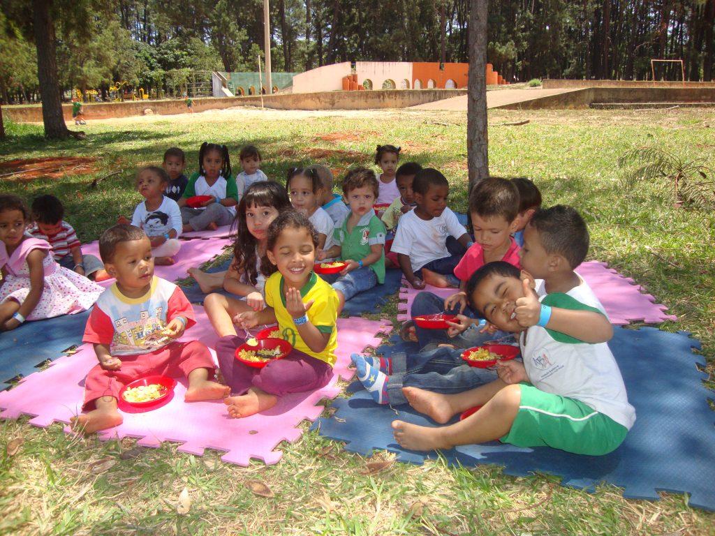 Creches vinculadas aos Parceiros de Deus realizam semana especial do Dia das Crianças