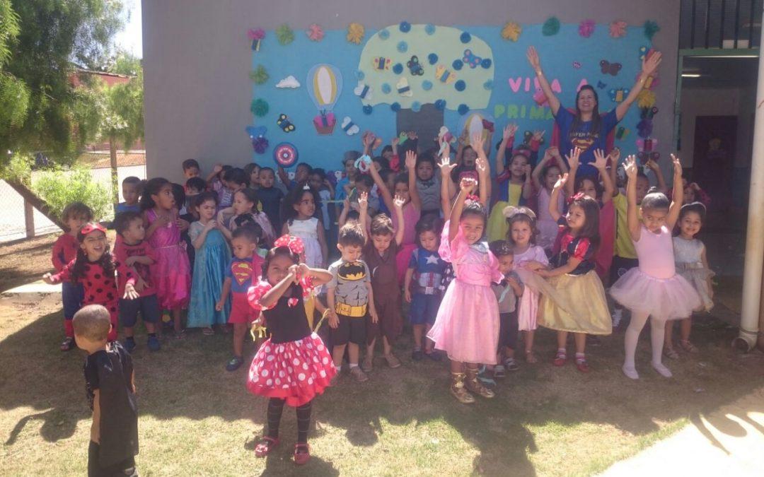 Creche Vó Zizi promove Semana da Criança com muitas atividades e brincadeiras