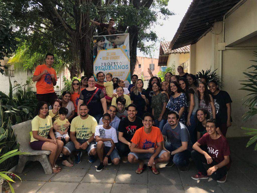 Parceiros de Deus realiza projeto Pequeninos em Recife/PE