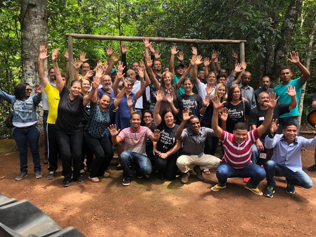 Parceiros de Deus realizam café da manhã especial em comunidade terapêutica de Brasília