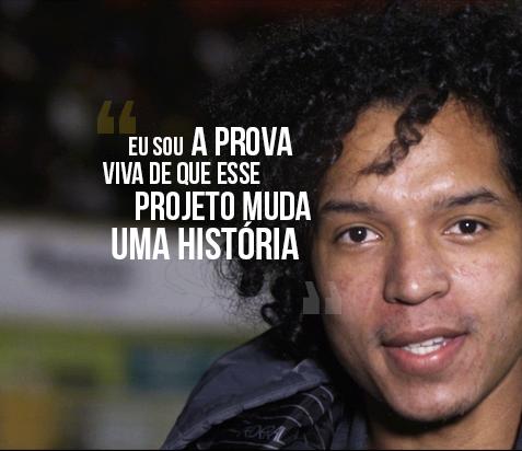 Felipe Alves passou um período desempregado, mas nem por isso deixou de ser fiel aos Parceiros de Deus