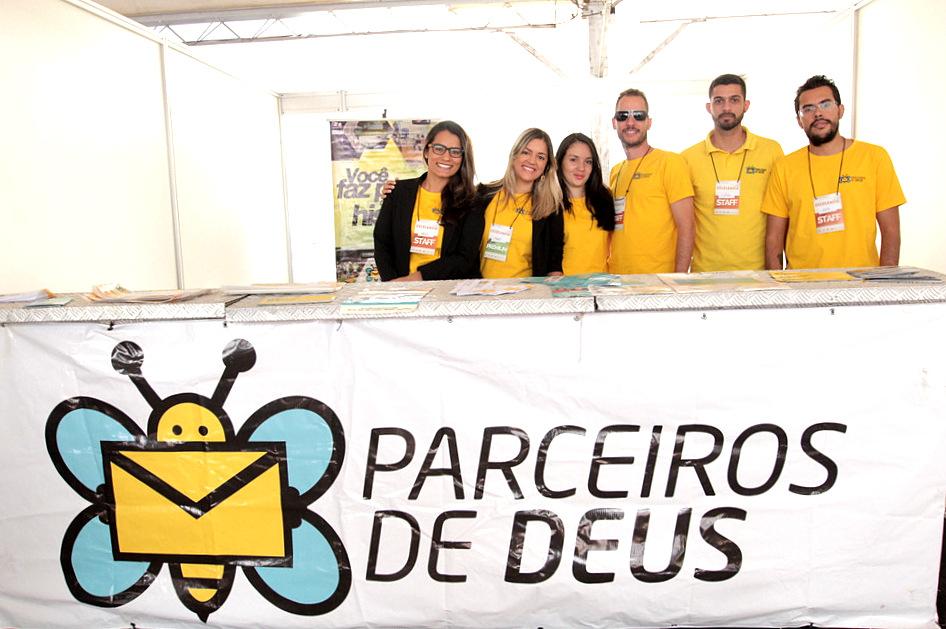 Durante a Celebração Internacional em Brasília não deixe de relatar o seu testemunho com os Parceiros de Deus