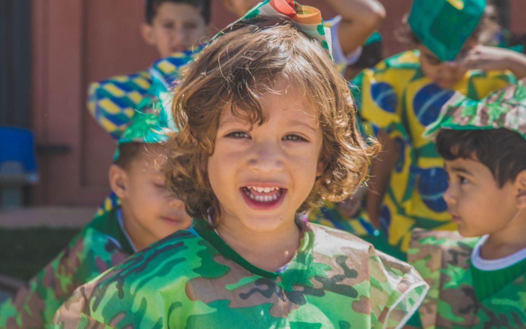 Creche Vovó Zizi comemora Dia do Soldado com programação especial