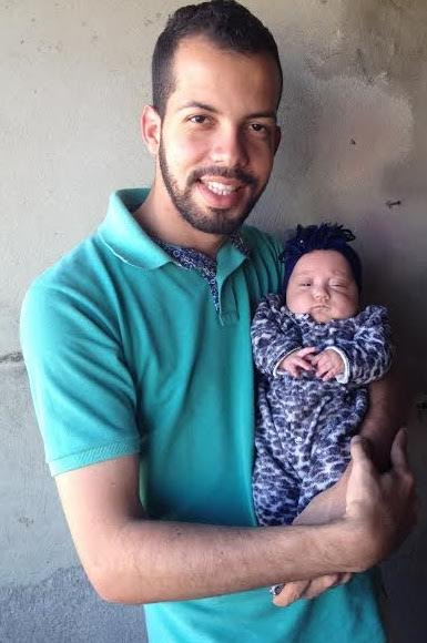 A sobrinha de Francisco tinha apenas 10% de chances de sobrevida, mas ele não desanimou e confiou ainda mais no PD